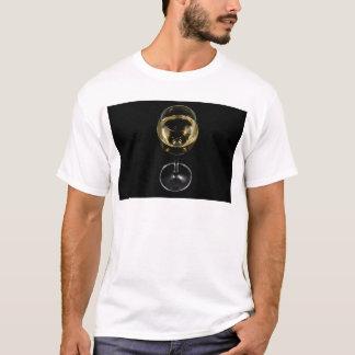Camiseta vidro do champanhe