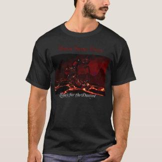 Camiseta Vidro satânico de Linux