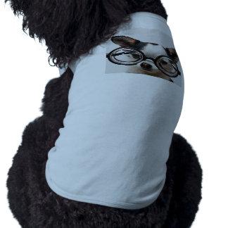 Camiseta Vidros da chihuahua - eyeglasses do cão