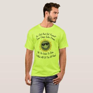 Camiseta Vidros solares baratos