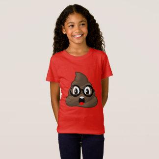 Camiseta Vidros surpreendidos Emoji do tombadilho