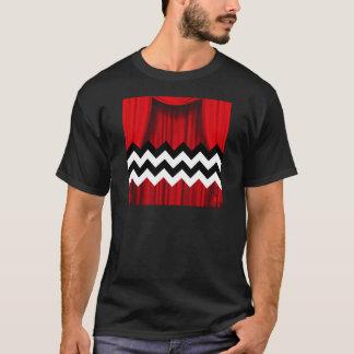 Camiseta viga preta do alojamento
