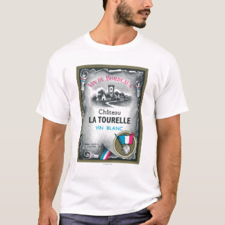 Camiseta Vin De Bordéus Vinho LabelEurope