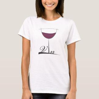Camiseta Vin (vinho)