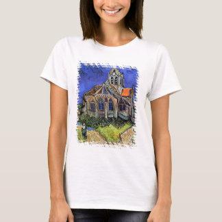 Camiseta Vincent van Gogh - a igreja em Auvers