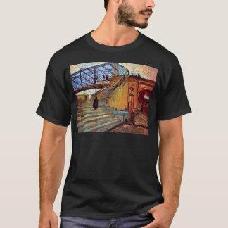 Camiseta Vincent van Gogh - a ponte de Trinquetaille