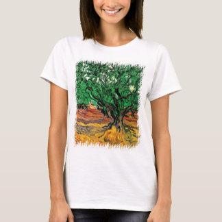Camiseta Vincent van Gogh - belas artes das oliveiras