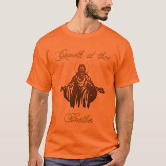 Camiseta Vindo em mim Bro
