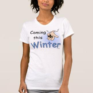 Camiseta Vindo este t-shirt do inverno