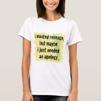 Camiseta Vingança