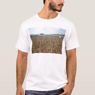 Camiseta vinhedo no côte-d'or do meursault de Borgonha