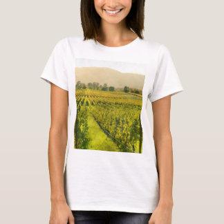 Camiseta Vinhedo no outono em Napa Valley Califórnia