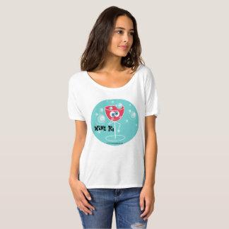 Camiseta Vinho Ho
