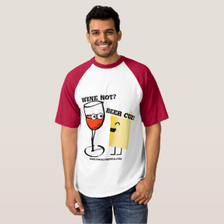 Camiseta Vinho não? Cerveja Cuz!