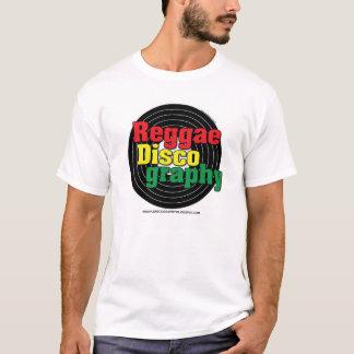 Camiseta Vinil da discografia da reggae