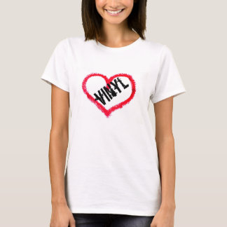 Camiseta Vinil do amor
