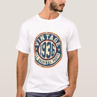 Camiseta Vintage 1936 todas as peças do original