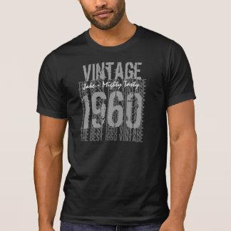 Camiseta Vintage 1960 do presente de aniversário do anos 50