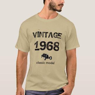 Camiseta vintage 1968 ou ano da mudança