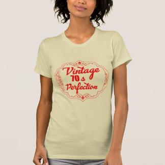Camiseta Vintage 70s do vetor
