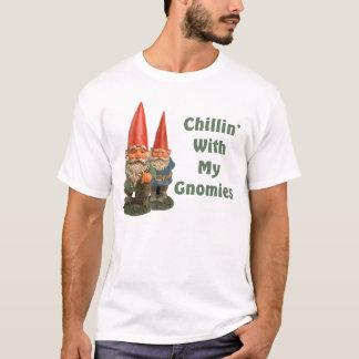 Camiseta Vintage Chillin com meu Gnomies