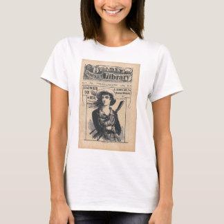 Camiseta Vintage cómico da moeda de dez centavos ocidental