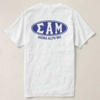 Camiseta Vintage da MU | do alfa do Sigma
