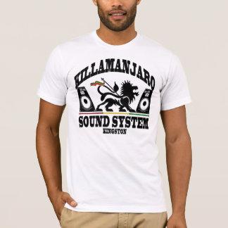 Camiseta Vintage de Kingston Jamaica do sistema de som de