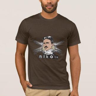Camiseta Vintage de Nikola Tesla