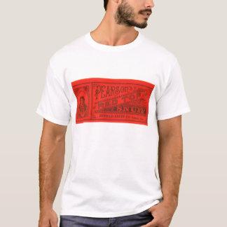 Camiseta Vintage do pó para inalações da parte superior