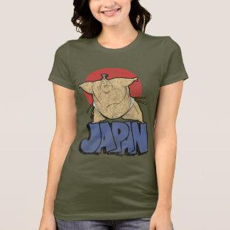Camiseta Vintage do Sumo de Japão