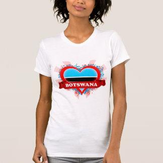 Camiseta Vintage eu amo Botswana