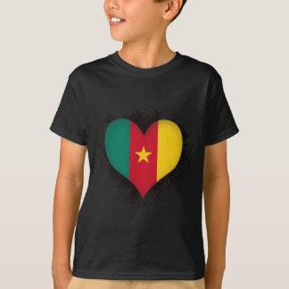 Camiseta Vintage eu amo República dos Camarões