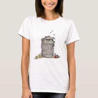 Camiseta Vintage Oscar no balde do lixo