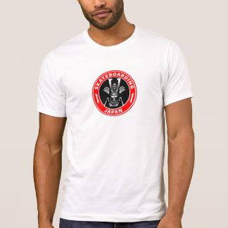Camiseta Vintage Skateboarding do samurai de OG Japão