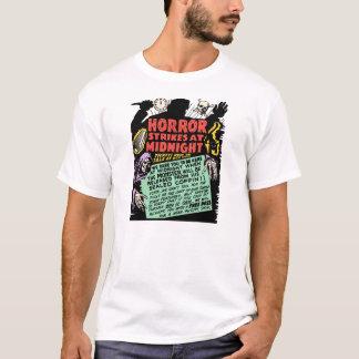 Camiseta Vintage Spookshow - greves do horror na meia-noite