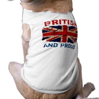 Camiseta Vintage sujo Reino Unido
