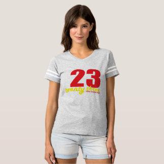 Camiseta vinte e três eu gosto da bola da cesta