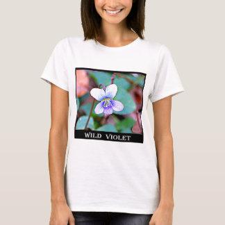 Camiseta Violeta comum de New-jersey