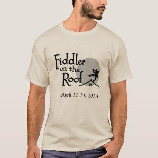 Camiseta Violinista no t-shirt do telhado