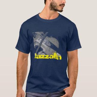 Camiseta Violino do jazz