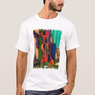 Camiseta Violino e guitarra por Juan Gris