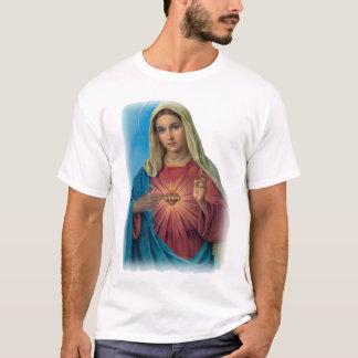 Camiseta Virgem Maria abençoada