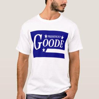 Camiseta Virgil Goode para o presidente T-shirt