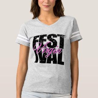 Camiseta Virgin do festival (preto)