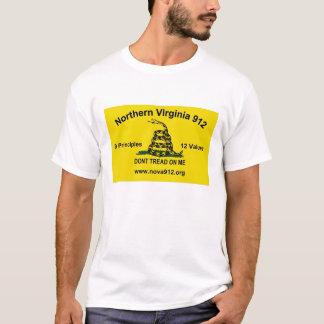 Camiseta Virgínia do norte 912 - bandeira de Gadsden