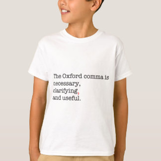 Camiseta Vírgula de Pro-Oxford