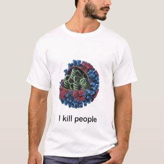 Camiseta Virus da gripe