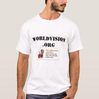 Camiseta Visão do mundo
