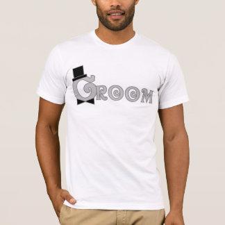 Camiseta Vista acima o noivo